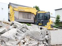 建設工事に伴う排出ガスの低減phot